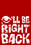 I'll Be Right Back Logo